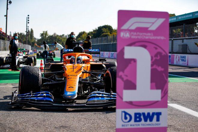 2021年F1第14戦イタリアGP ダニエル・リカルド(マクラーレン)が優勝