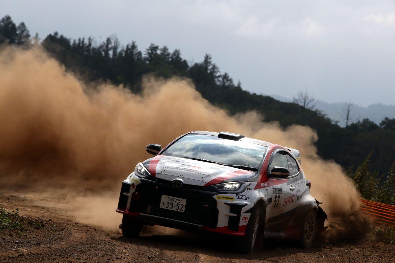 勝田範彦組GRヤリスが今季2勝目「気持ち良く走ることができた」/全日本ラリー北海道