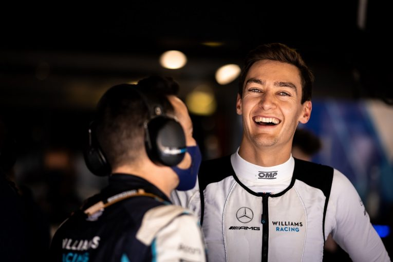 F1   ラッセル9位「4戦中3回入賞。この勢いを維持したい」ウイリアムズ/F1第14戦決勝