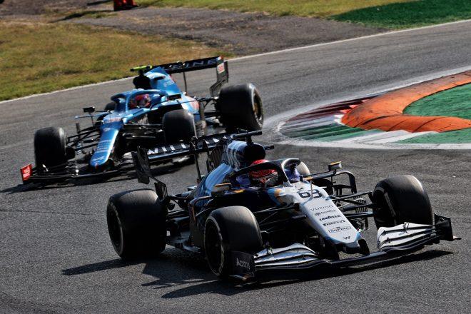 2021年F1第14戦イタリアGP ジョージ・ラッセル(ウイリアムズ)