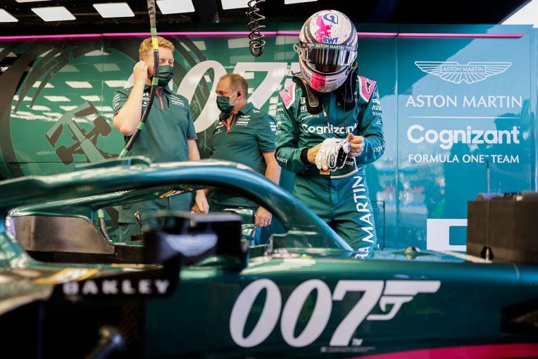F1 | ベッテル「レースは1周目に終ったも同然。次々に抜かれてダメージも負った」:アストンマーティン F1第14戦決勝