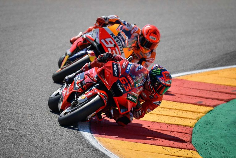 MotoGP   【レースフォーカス】完ぺきな週末で初優勝を飾ったバニャイア。そしてM.マルケスが取り戻したい武器/MotoGP第13戦アラゴンGP