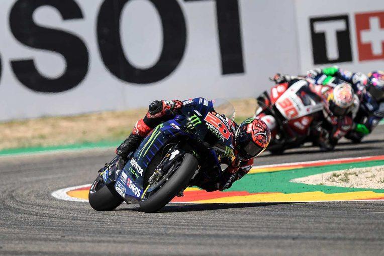 MotoGP   【レースフォーカス】クアルタラロ、リヤタイヤの問題で後退するもチャンピオンシップのために得た8位/MotoGP第13戦