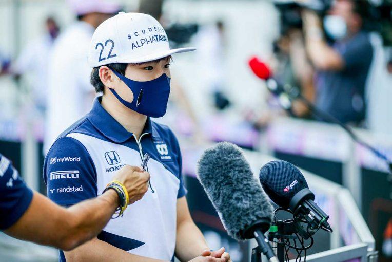 F1 | 角田裕毅、F1ドライバーとしてのリスクを語る「時には危険なこともあるが、それが僕の仕事」