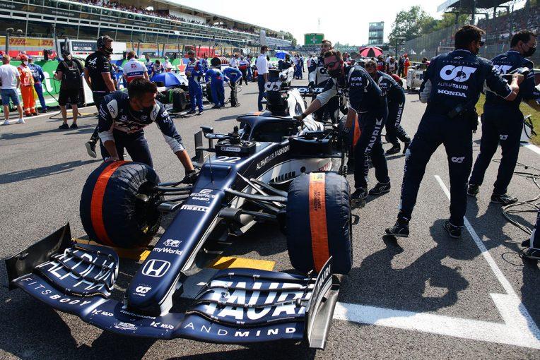 F1 | 「ペダルのタッチが柔らかく、レースをするのは危険だった」角田は伸び代を見せるも走れず/ホンダ本橋CEインタビュー