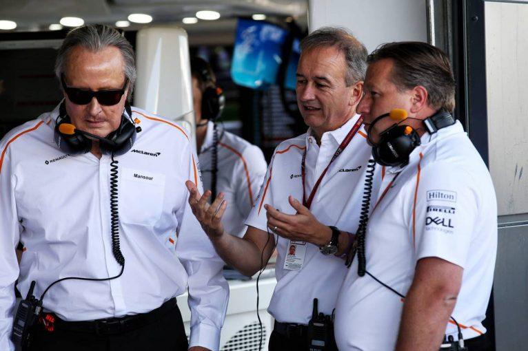 F1   マクラーレン・グループCOOのジョナサン・ニールが離脱へ。かつてはマネージングディレクターを務める