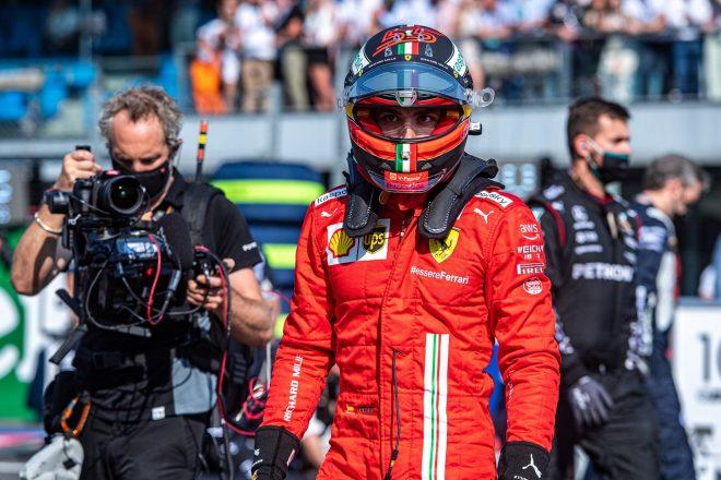 2021年F1第14戦イタリアGP カルロス・サインツJr.(フェラーリ)