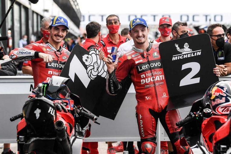 MotoGP | MotoGP第14戦サンマリノGP:バニャイアが2戦連続でレコード更新タイムを記録し、ポール獲得