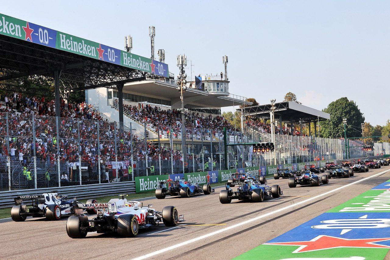 2021年F1第14戦イタリアGP スプリント予選グリッド