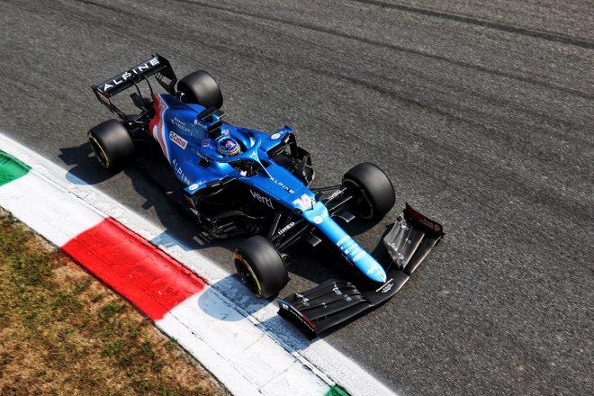 2021年F1第14戦イタリアGP フェルナンド・アロンソ(アルピーヌ)