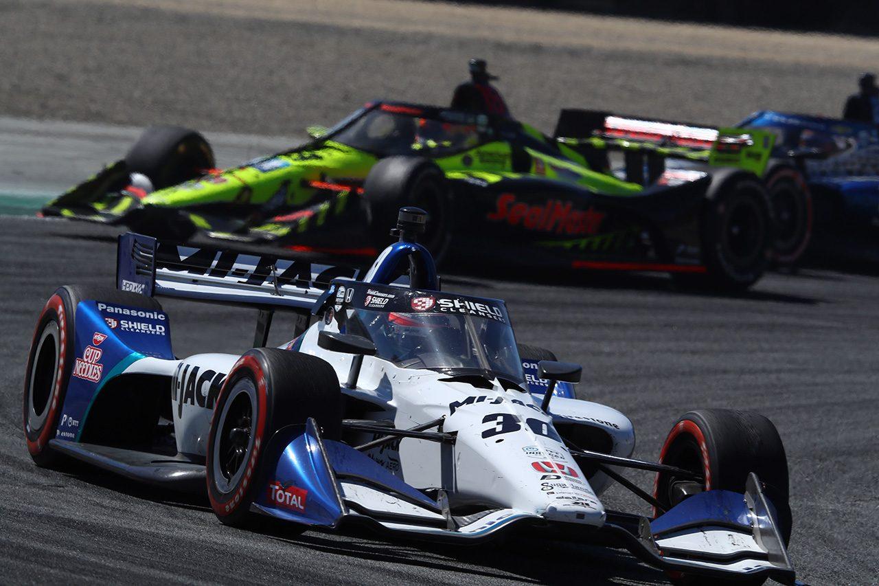 コークスクリューで痛恨のスピンを喫した佐藤琢磨「レースではスピードがあって何台も抜けた」
