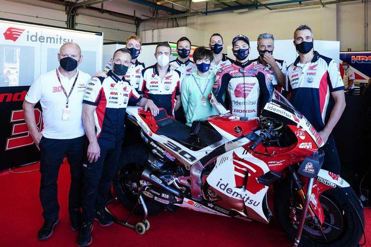 MotoGP | 中上貴晶「チームのホームレースで10位。前進できてよかった」/MotoGP第14戦サンマリノGP決勝