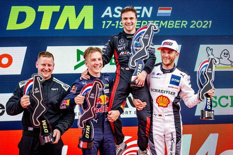 海外レース他 | レッドブルのリアム・ローソン、連続表彰台でランク首位に。優勝はウィットマンとアウアー/DTMアッセン