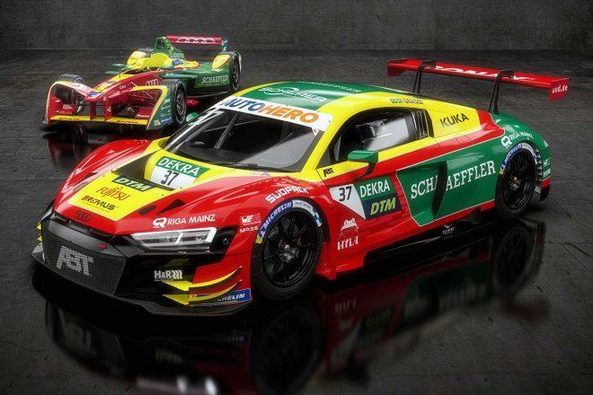 海外レース他   「クレイジーなアイデア」でディ・グラッシがDTMにゲスト参戦。フォーミュラE戴冠時のリバイバルカラーで