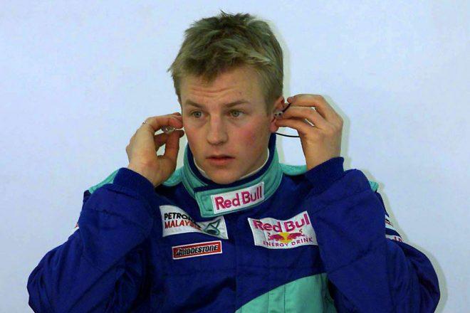2000年9月、ムジェロで行われたテスト走行にザウバーから参加したキミ・ライコネン