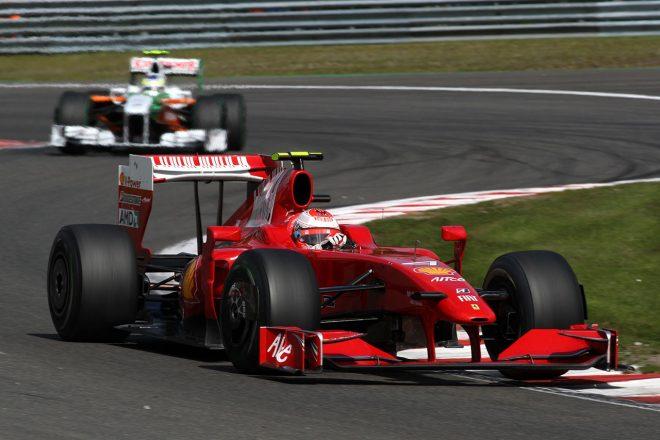 2009年ベルギーGP キミ・ライコネン(フェラーリ)
