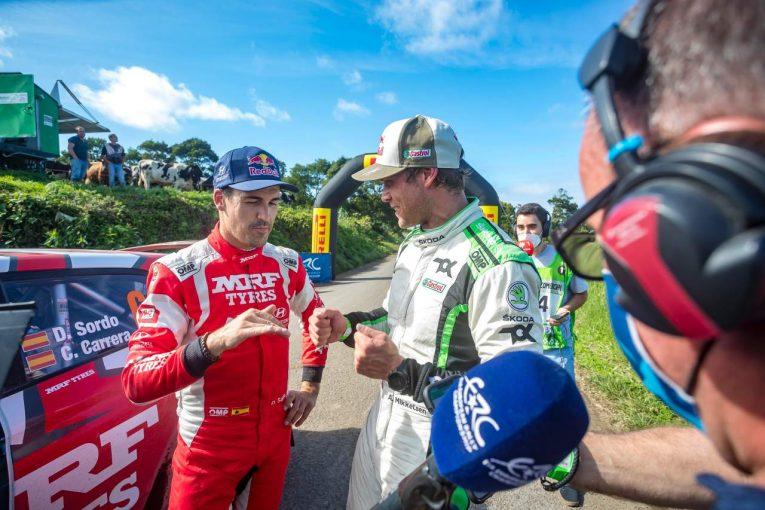 ラリー/WRC | 初日首位発進、強敵ダニ・ソルドを降したアンドレアス・ミケルセンが逆転勝利/ERC第5戦