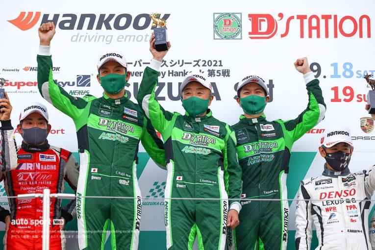 国内レース他   スーパー耐久鈴鹿でダブルウイン&ST-X王座獲得。「今回決めたかった」D'station Racing最良の日に