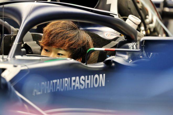 2021年F1第15戦ロシアGP 角田裕毅(アルファタウリ・ホンダ)