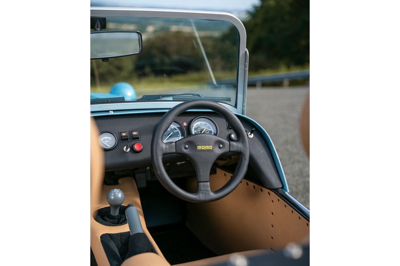 ケータハム、軽規格の新型車『セブン170』発売。660ccターボを搭載し車重は440kg