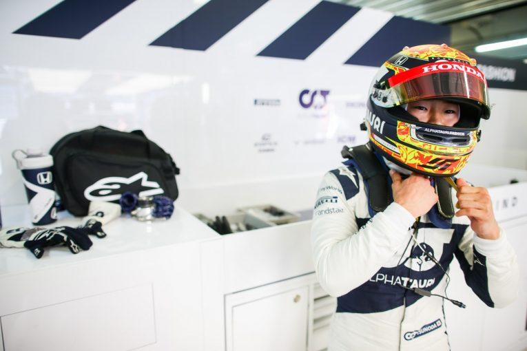 F1   角田裕毅「グリップに苦戦しながらも、日曜に備えてしっかり走りこむことができた」F1第15戦金曜