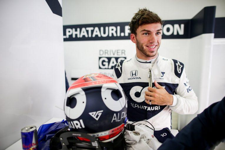 F1 | ガスリー初日3番手「シャルルとマックスの降格で、僕たちにチャンスが巡ってくる」アルファタウリ・ホンダ/F1第15戦