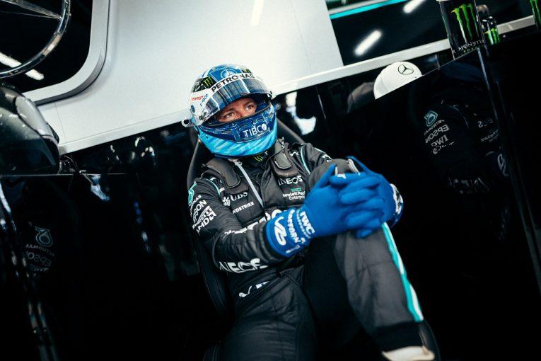 F1 | 初日トップのボッタス「ドライではショートランもロングランも好調だが、ウエットでは未知数」メルセデス/F1第15戦