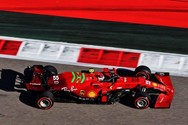 2021年F1第15戦ロシアGP カルロス・サインツJr.(フェラーリ)
