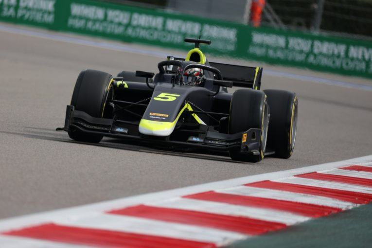 海外レース他 | ティクトゥムがポール・トゥ・ウイン。佐藤万璃音は14位【FIA-F2第6戦ロシア レース1】