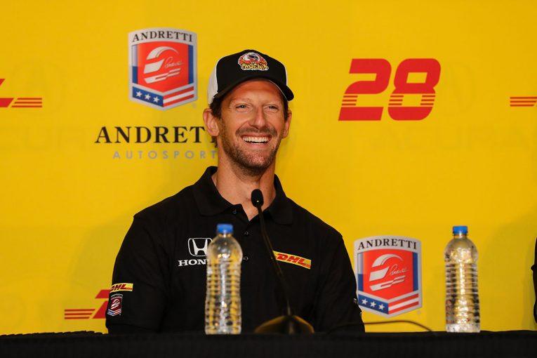 海外レース他 | グロージャン、インディカー2年目は名門チームへ。アンドレッティ・オートスポートに加入し28号車をドライブ