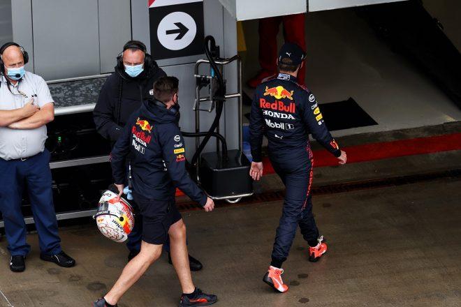 2021年F1第15戦ロシアGP 予選を早々に切り上げたマックス・フェルスタッペン(レッドブル・ホンダ)
