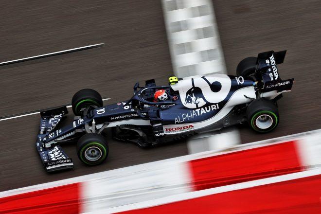 2021年F1第15戦ロシアGP ピエール・ガスリー(アルファタウリ・ホンダ)