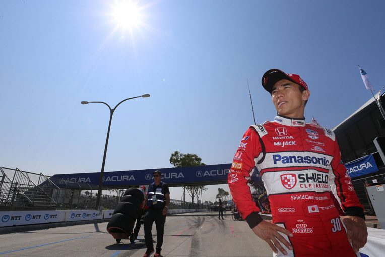 海外レース他   最終戦は9位入賞の佐藤琢磨「今年は苦しいシーズンで、今日も今年らしいレースだった」