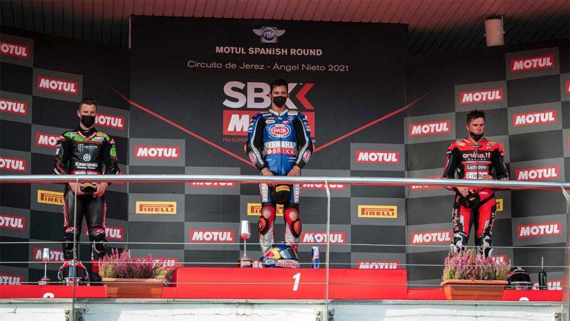MotoGP   ラズガットリオグル「昨日の悲劇を思い出し、今回は幸せな気持ちにはなれない」/SBK第10戦スペイン
