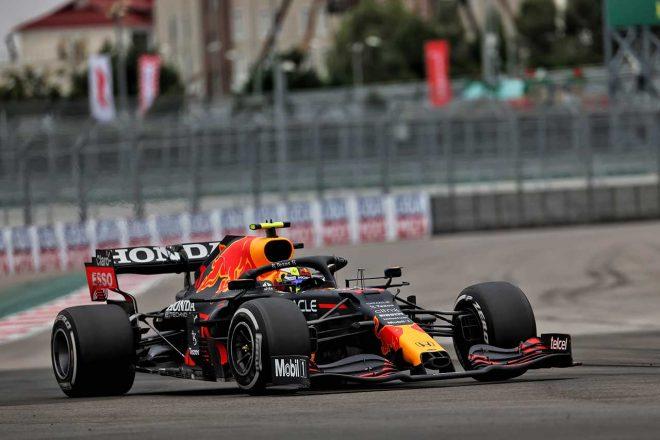 2021年F1第15戦ロシアGP セルジオ・ペレス(レッドブル・ホンダ)