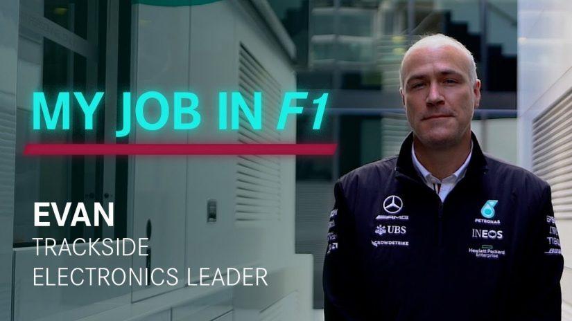 """F1   【動画】メルセデスF1の裏方、トラックサイド・エレクトロニクスのリーダーが経験した""""最悪の出来事"""""""