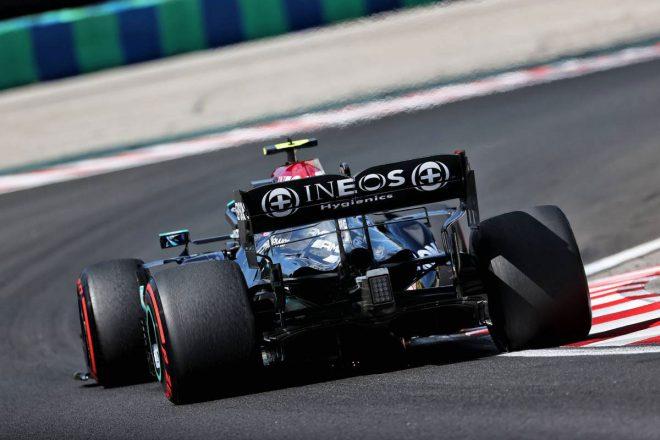 2021年F1第11戦ハンガリーGP バルテリ・ボッタス(メルセデス)