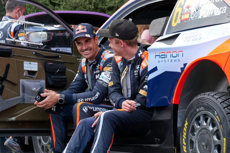 ラリー/WRC   ヒュンダイ、2022年の布陣確定。ダニ・ソルドとオリバー・ソルベルグが3台目をシェア/WRC