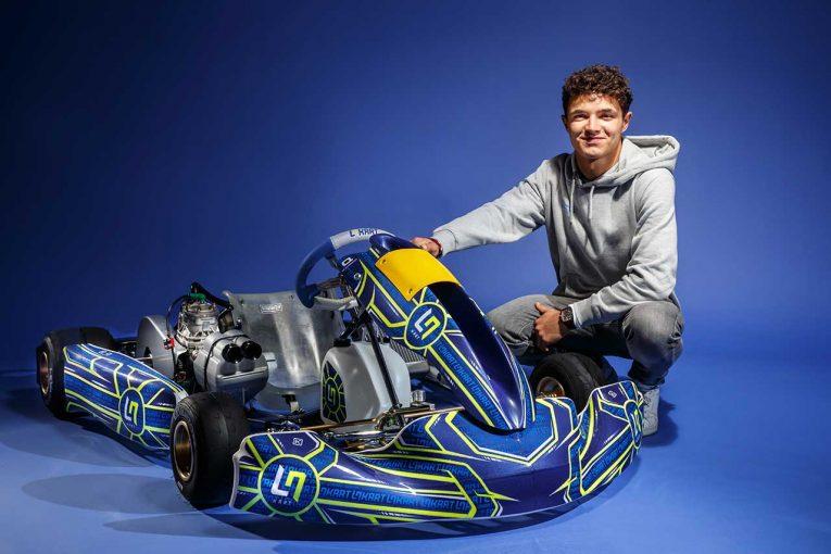 F1 | 【動画】ノリス、自身が設計に携わったカートブランドを立ち上げ