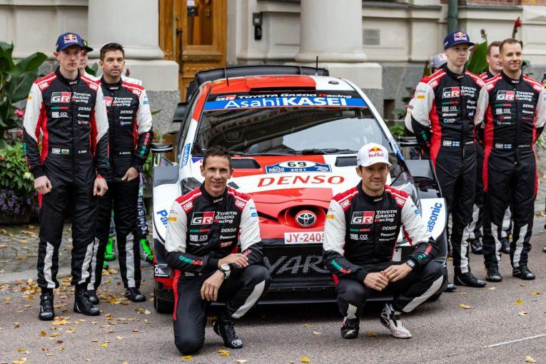 ラリー/WRC   トヨタが2022年WRCドライバー発表。エサペッカ・ラッピが復帰し、オジエと3台目をシェアへ