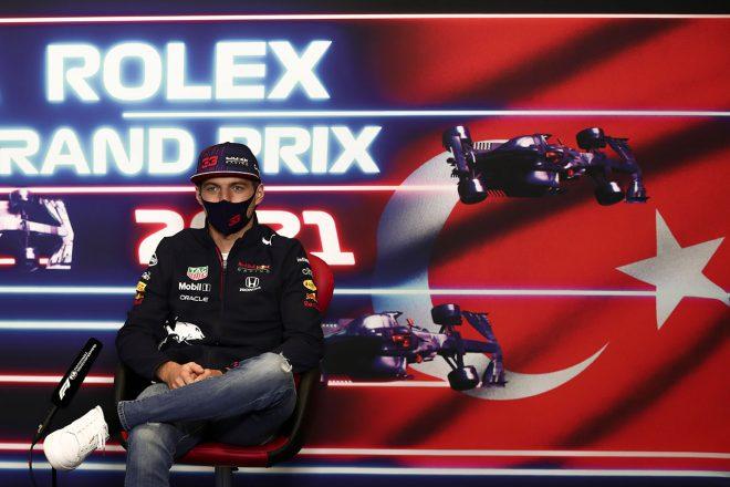 2021年F1第16戦トルコGP マックス・フェルスタッペン(レッドブル・ホンダ)