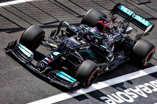 2021年F1第16戦トルコGP ルイス・ハミルトン(メルセデス)
