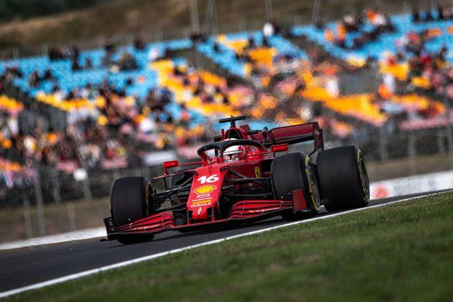 2021年F1第16戦トルコGP シャルル・ルクレール(フェラーリ)