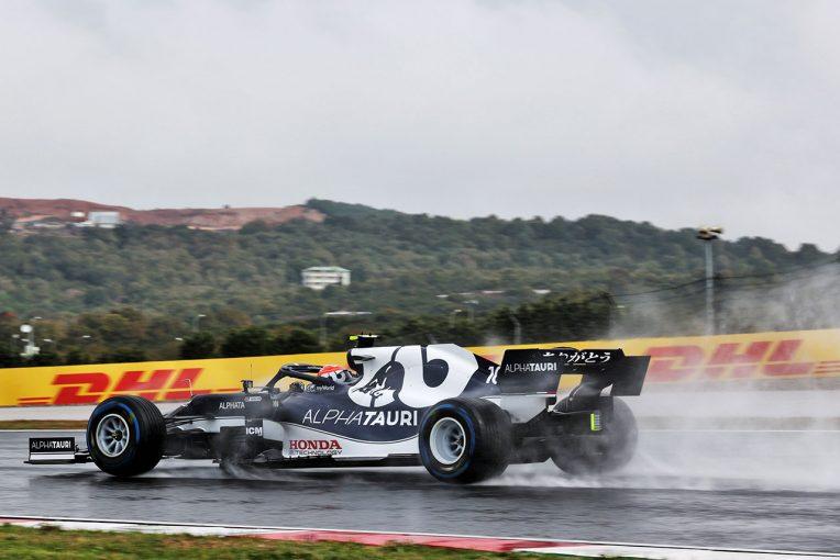 F1   ガスリーが最速、ホンダPU勢がトップ3に並ぶ【タイム結果】F1第16戦トルコGPフリー走行3回目