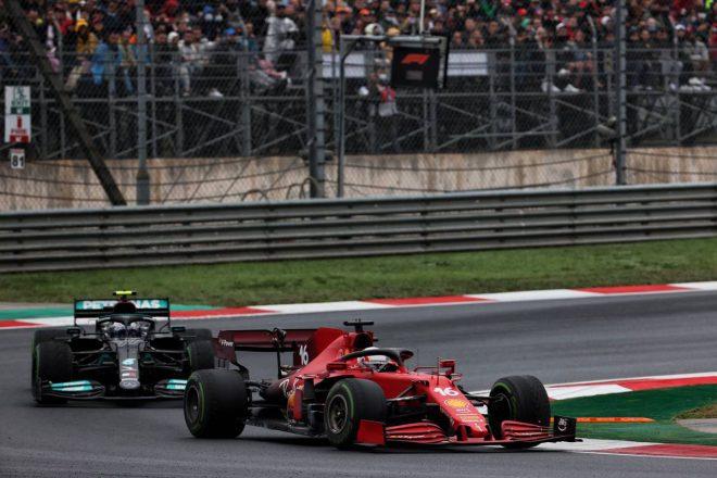 シャルル・ルクレール(フェラーリ)&バルテリ・ボッタス(メルセデス)