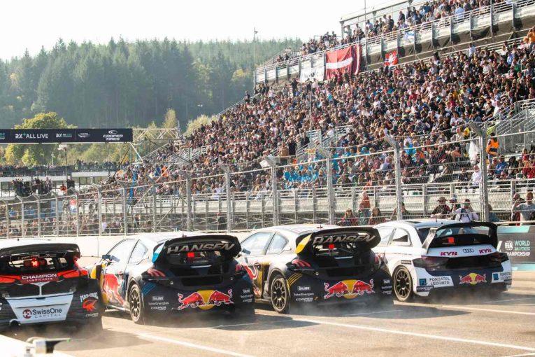 ラリー/WRC   3冠王者クリストファーソンが反撃の勝利。アンドレアス・バッケルドはEuroRX1王者に/WorldRX第6戦