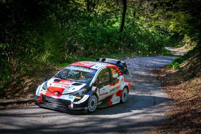 ラリー/WRC   トヨタのエバンス「タイトル争いは依然厳しい状況にある」/2021WRC第11戦スペイン 事前コメント