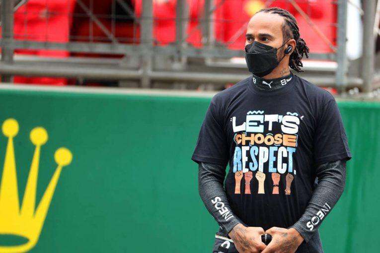 F1   ハミルトン、タイヤ戦略についてチームに怒りはないと説明。メルセデスF1代表も「連携が取れている」と主張