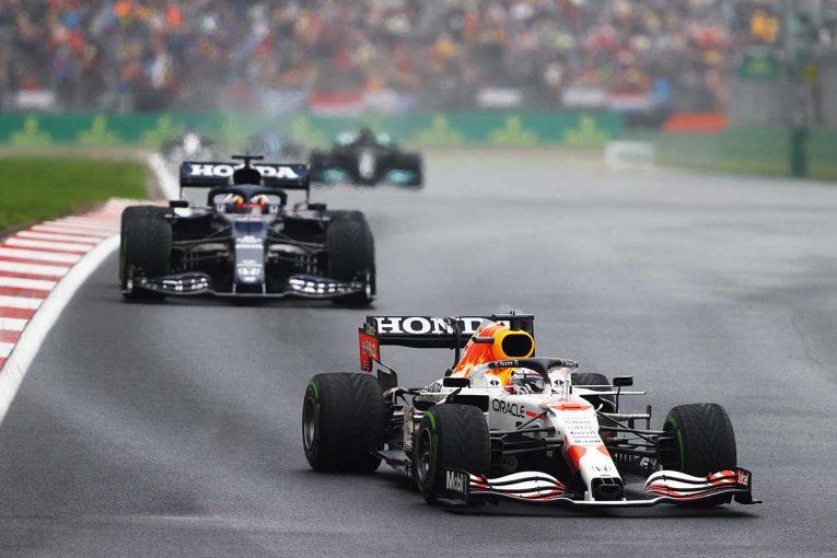 F1 | 鈴鹿の無念を晴らすレッドブル・ホンダのダブル表彰台。王者に向けた総力戦とホンダホワイトの結束