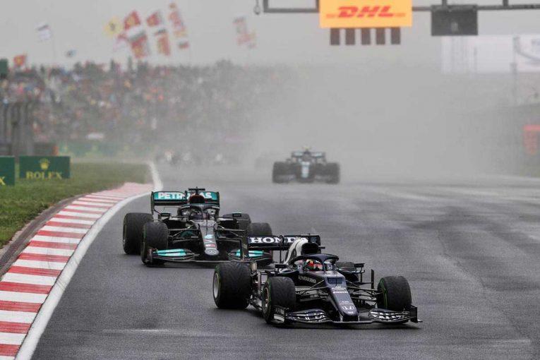 F1 | ハミルトンを抑え込んだのは「ホンダとレッドブルにとって値千金」/角田裕毅の海外メディア評 F1第16戦
